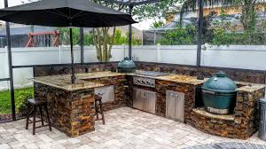 outdoor kitchen islands authentic pictures of outdoor kitchens creative big green egg
