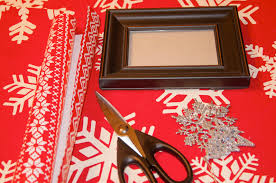 12 days of christmas crafts day 11 christmas sparkle frames all