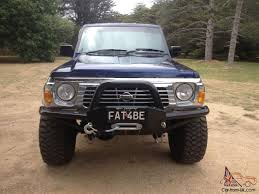 nissan patrol 1990 patrol gq cut down wagon