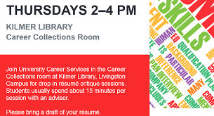 rutgers resume resume critique at carr library career services research
