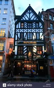 the george pub in a tudor style house on fleet street the strand