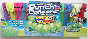 bunch balloons zuru bunch o balloons free self tying 350 water balloon