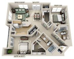 1 Bedroom House Floor Plans Floor Plans And Pricing For Sullivan Place Alexandria