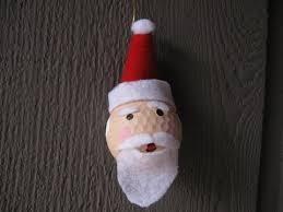 golf santa ornament craft tutorial