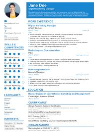 Resume Templates 2017 Professional Résumé Templates For Your