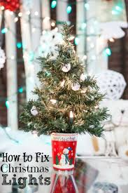 how to fix xmas lights on tree christmas waste how to fix christmas lights