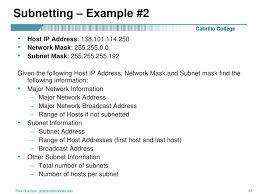 subnetting tutorial for beginners classless subnetting