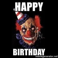 Scary Clown Meme - scary clown birthday scary birthday clown www imgkid the image kid