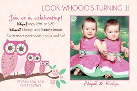 Free First Birthday Invitation Cards 12 Twin Birthday Invitations Templates U2013 Free Sample Printable
