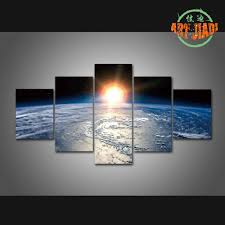 aliexpress com buy shinning sun on planet earth 5 pieces sets