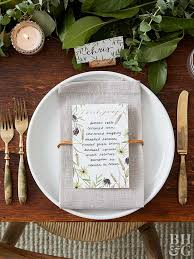 how to set a table with napkin rings easy to make place cards and napkin rings for a thanksgiving table