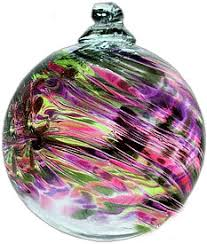 birthstone ornaments kitras glass february birthday birthstone for the