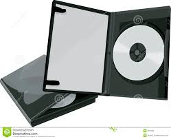 dvd case and dvd stock illustration image of digital silver 361566