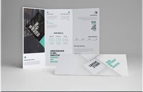 25 tri folder brochure mockups psd vector eps jpg download