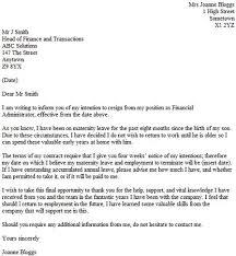 after maternity leave resignation letter example resignation