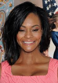 layered hairstyles with bangs for african americans that hairs thinning out african american medium layered hairstyle with bangs from sufe