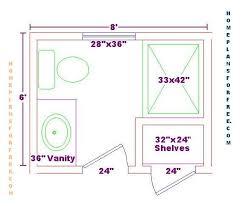 Bathroom Floor Plan Design Pinterest Bathroom Floor Plans Bathroom Design Ideas 6x8