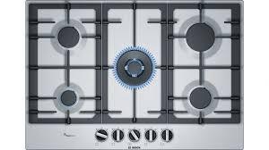 Bosch Cooktops Bosch 75cm Series 6 5 Burner Gas Cooktop Cooktops Appliances