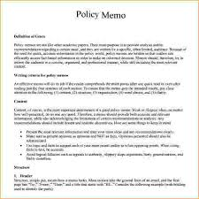 policy memo template professional policy memo sample jpg pay