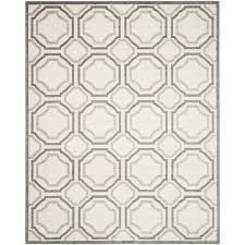 12 X 12 Outdoor Rug by Amazon Com Safavieh Amherst Collection Amt411e Ivory And Light