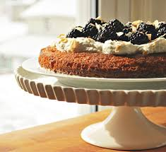 the kitchen boudoir tres leches cake with blackberries u0026 coconut