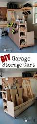 best images about storage building plans pinterest diy garage storage cart perfect hold wood and all the goodies your