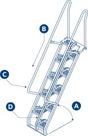 lapeyre stair alternating tread stair
