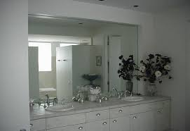 Bathroom Mirrors Frameless Bathroom Mirror Frameless Awesome Mirrors Large Design Cabinets