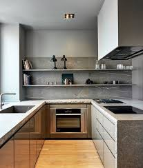 Neutral Kitchen Ideas - beautiful raw edge modern putty neutral kitchen