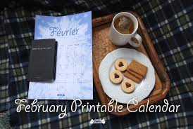 february printable snowflakes calendar papier bonbon
