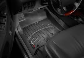 lexus es 350 floor mats black amazon com weathertech custom fit rear floorliner for toyota