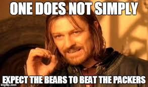 Packers Bears Memes - ted meme imgflip