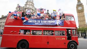 stop trump u0027 campaign bus tours london cnnpolitics