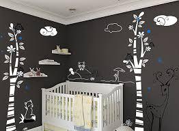 Nursery Wall Decals For Boys Woodland Nursery Wall Decals Styleshouse