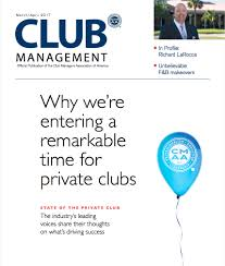 cover letter for media kit club management magazine cmaa