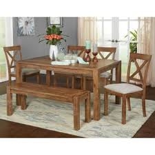 dining room sets with bench kitchen dining room sets for less overstock com