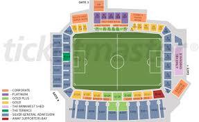 Stadium Floor Plans Nib Stadium Perth Events U0026 Tickets Map Travel U0026 Seating Plan