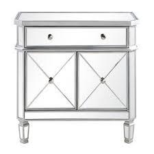 silver nightstands u0026 bedside tables joss u0026 main