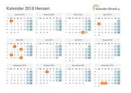 Kalender 2018 Hessen Ausdrucken Feiertage 2018 Hessen Kalender