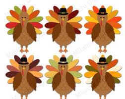 turkey clip etsy
