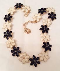 black flower necklace images 1333 best vintage necklaces images vintage jpg