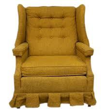 Ebth Chair Vintage Mustard Yellow Accent Chair Ebth Dsc Yellow Accent