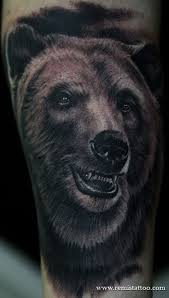 venetian tattoo gathering tattoos realistic grizzly bear tattoo