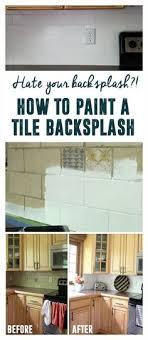 painting kitchen backsplash how to paint a kitchen tile backsplash labour