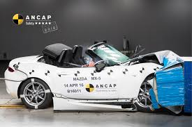 mazda car ratings a safety high five for popular sports car mazda mx 5 ancap