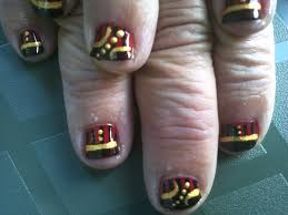 halloween costume inspired nail art lady pirate the nail lab