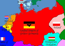 germania map map of my greater germania by generalhelghast on deviantart