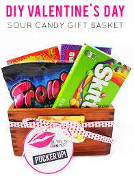 Candy Gift Basket La Petite Fashionista Diy Sour Candy Gift Basket U0026