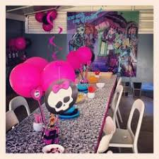 instant download monster high theme diy printable by dindindies