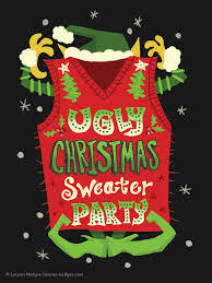 ugly christmas sweater party invitations u2014 lauren hodges